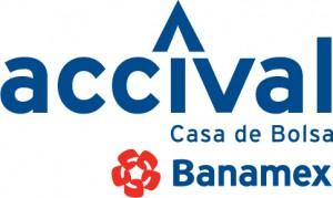 Logo de Acciones y Valores Banamex
