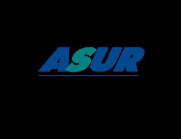 Logo de Asur