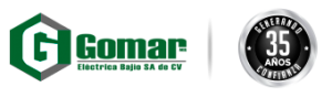 Logo de Gomar Eléctrica Bajio