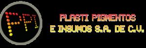Logo de Plasti Pigmentos e Insumos