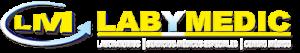 Logo de Laboratorios Labymedic de Mexico,de cv